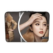 WOFALO 9.7-10.6 Inch Netbook Laptop Bag Case Sleeve Cover for Wallace wearing a down jacket HD(China (Mainland))