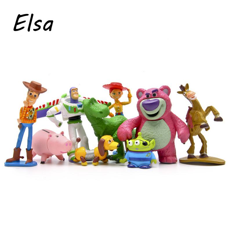 Toy Story 3 Full Collection Sheriff Woody Buzz Lightyear Jessie Hamm Rex Slinky Dog Mr Potato Head Doll Action Figures Play Set(China (Mainland))