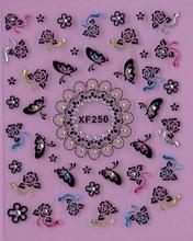 1 Sheet nail stickers nail supplies nail jewelry XF250