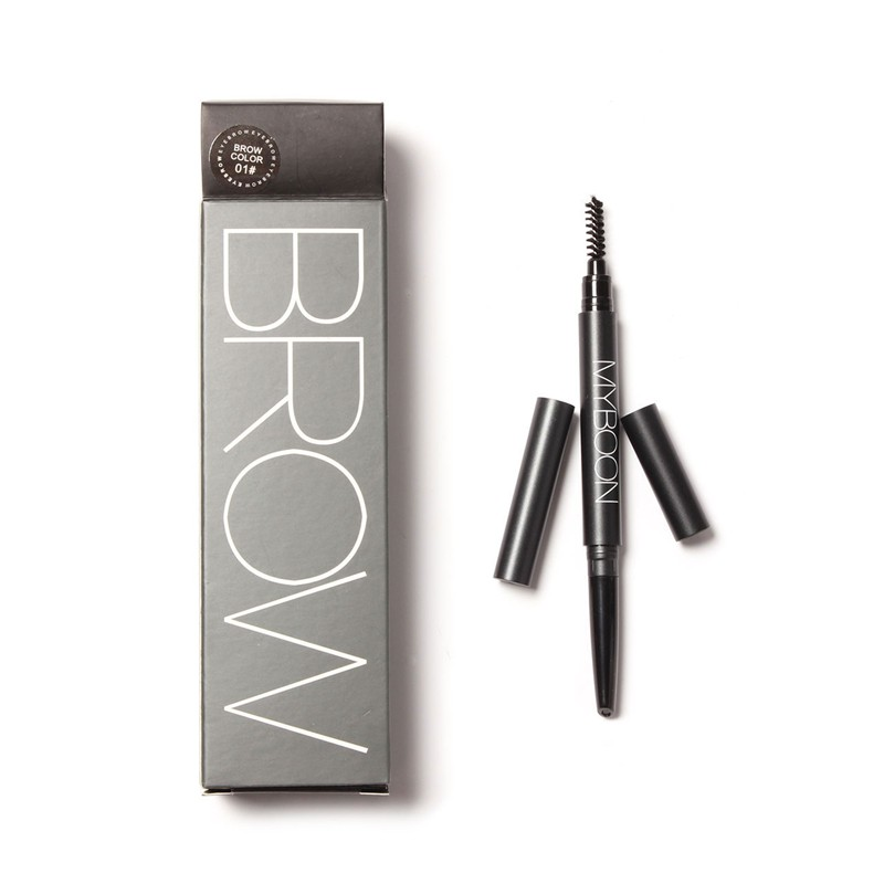 Makeup Eyebrow Brows Pencil Eyeliner Eye Brush Waterproof Long-lasting Myboon - Focallure Beauty Flagship Store store