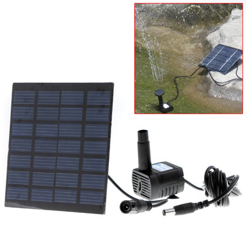 High Quality Solar Power Fountain Pool Water Pump Garden Plants Watering Kit Free Shipping In