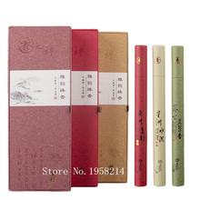 Natural Sandalwood/wormwood/agilawood Joss Stick Incense  Fragrant Incense Smoke Aromatherapy Three Flavors/a Box(China (Mainland))