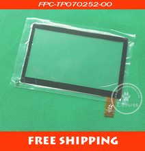 7 inch tablet capacitive touch screen GPS car navigation G7S FPC-TP070252-00 external screen(China (Mainland))