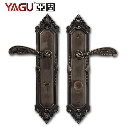 Solid high-grade copper lock core door lock to open the European retro / double villa door mechanical lock(China (Mainland))