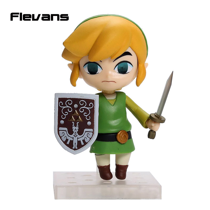 Cute Nendoroid The Legend of Zelda Link the Wind Waker Ver. #413 PVC Acton Figure Model Collection Toy 4 10cm MNFG096<br><br>Aliexpress