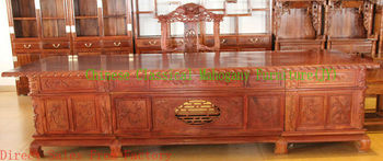 Chinese classical mahogany furniture office desks rosewood desks office furniture Chinese style desks luxurious tradition