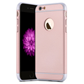 Anti knock Case for iPhone6 6s 6plus Luxury Removeable 3 in 1 Hard PC Matte Cases