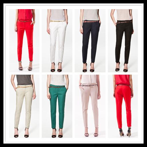 Perfect Elegant Fashion Ladies Pencil Pants Women Trousers Women Formal Pants