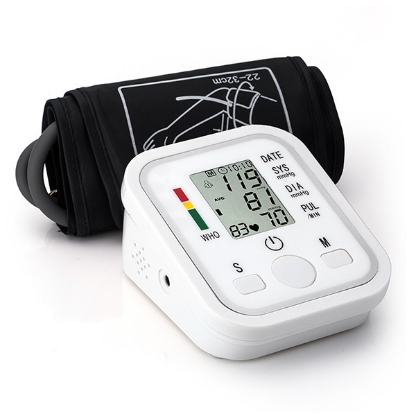 arm blood pressure bp monitor tonometer hematomanometer sphygmomanometer pulsometros health monitors care for heart nonvoice cheap