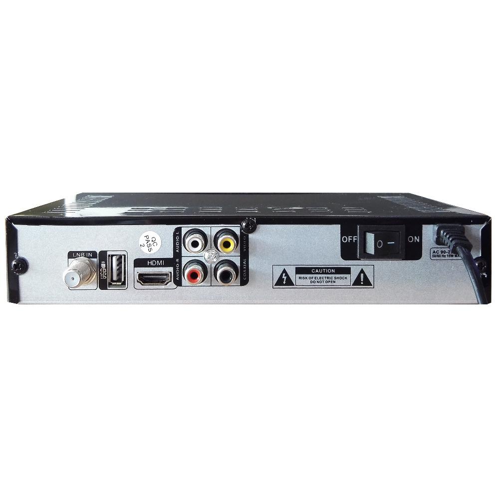 free shipping set top box Satellite Receiver DVB-S2 1080P HD satellite TV Decoder You tube, cccam, powervu, online movie(China (Mainland))