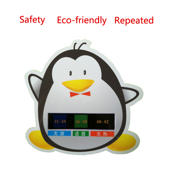 Baby Bath Thermometer Water Temperature Gauge Medidas 32-42Degree Celsius Cartoon Measuring Temperature Card Free Shipping(China (Mainland))