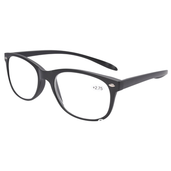 FR007 Black Quality Long Arms Around the Neck Retro Reading Glasses+1/+1.25/+1.5/+1.75/+2/+2.25/+2.5/+2.75/+3/+3.50/+4.0