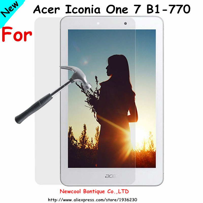 0 33mm 2 5D 9HTempered Glass Screen protector For Acer Iconia One 7 B1 770 B1