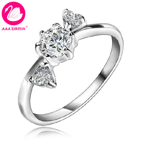 Обручальное кольцо AAA ZIRCON JEWELRY & 1.4 CT AAA 0696 helen fielding bridget jones the edge of reason pre intermediate level