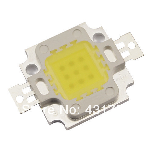Free Shipping 10W 20W 30W 50W 100W LED Bulb chip IC SMD Lamp Light White High Power LED Epistar Chips(China (Mainland))