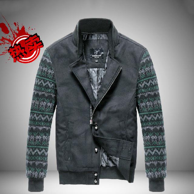 Mens clothes 2013 cotton jacket man casual coat slim mens men british style men's jackets J002