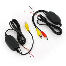 2.4 Ghz Wireless Video Transmitter Receiver Kit For Car Monitor To Connect The Car Rear View Camera Reverse Backup