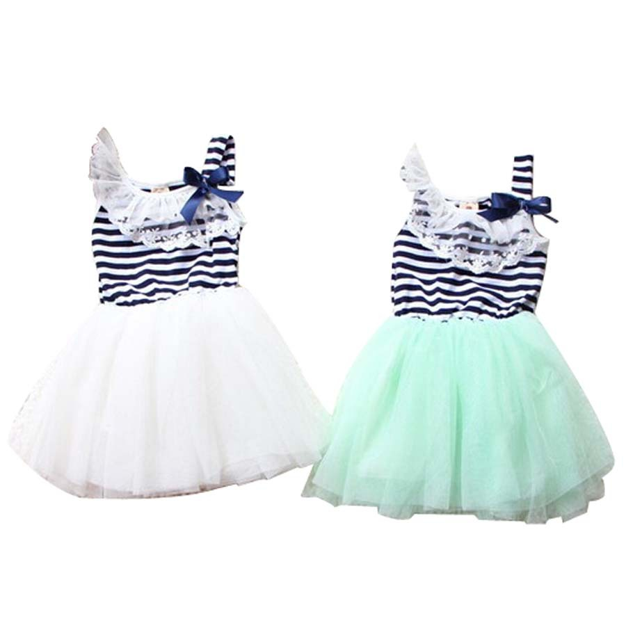 M-369,Cheap 2014 Summer Fashion New Baby Girls Ball Gown Dress Lace+Cotton Material 3 Colors plus size L-XXL baby princess dress()