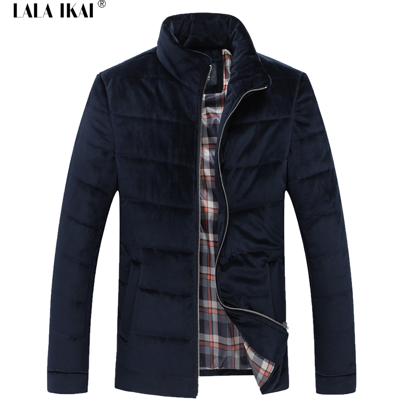 Velvet Men'S Winter Jacket Slim Fit 2016 Thick Cotton Winterjacke Brand Outdoor Quilted Winter Coat Men SMK0136-5(China (Mainland))