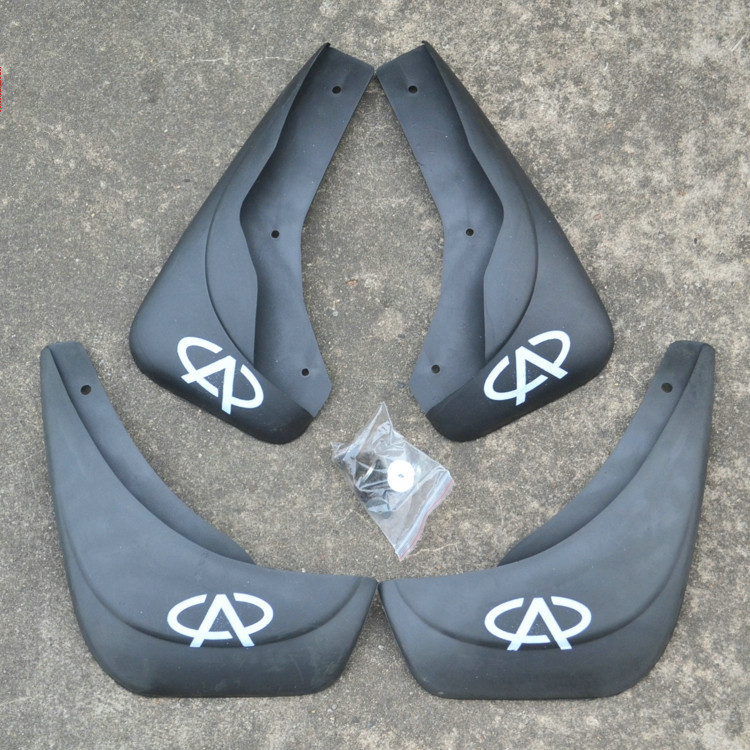 High quality soft plastic Fender for 2003-2011 CHERY QQ3 1.1,Auto special mudguard mudflaps,Modified auto parts decoration(China (Mainland))