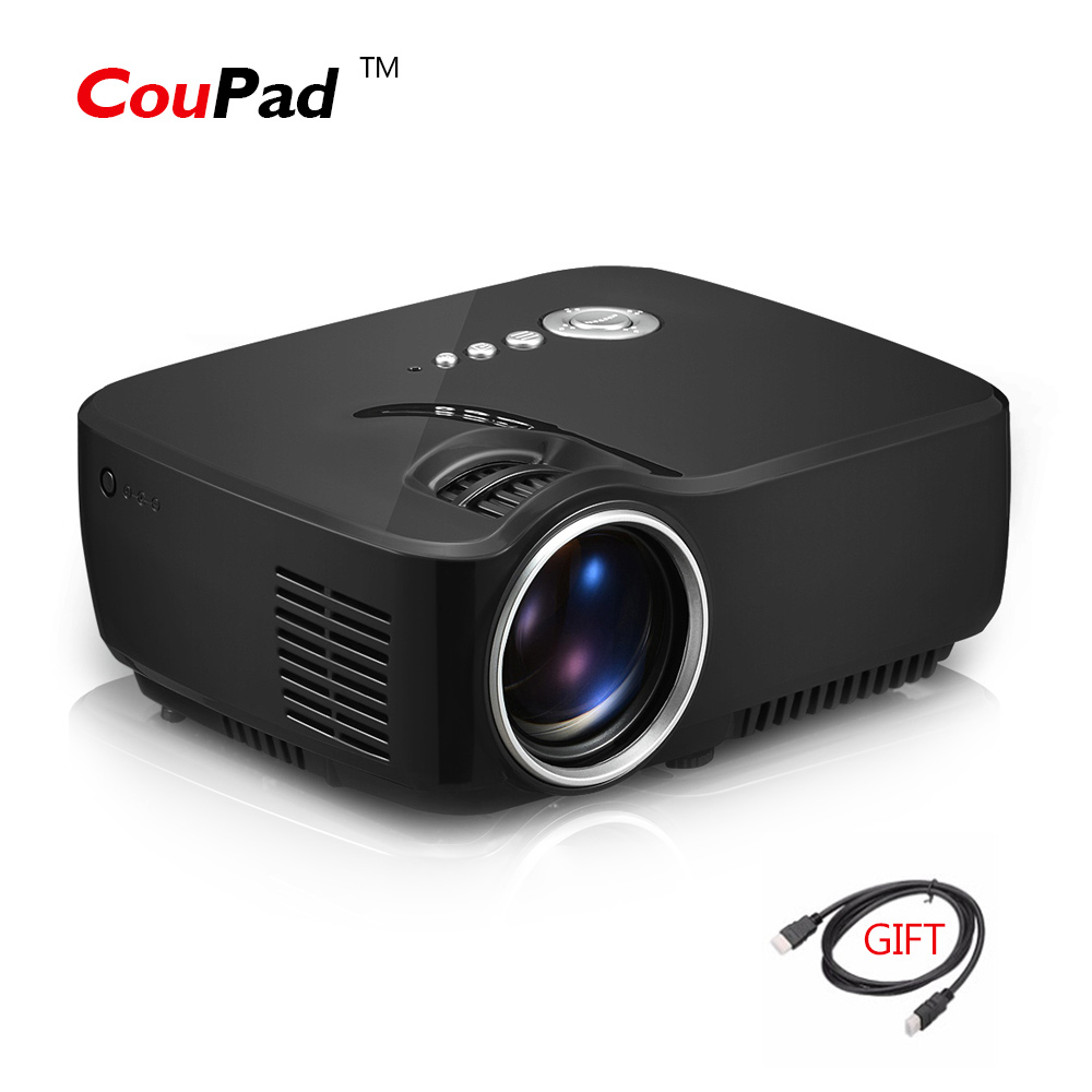 Gp70 portable full hd 1080p 1200 lumen mini led 3d video for Small hdmi projector