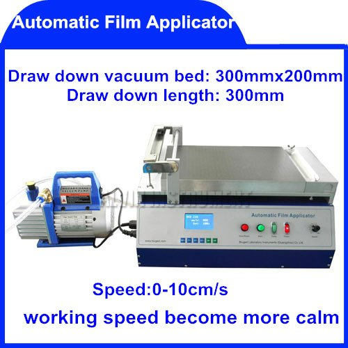 Free Shipping Automatic Film Applicator (Coater) coaters application applicators 0~10cm/s for different size substrate(China (Mainland))