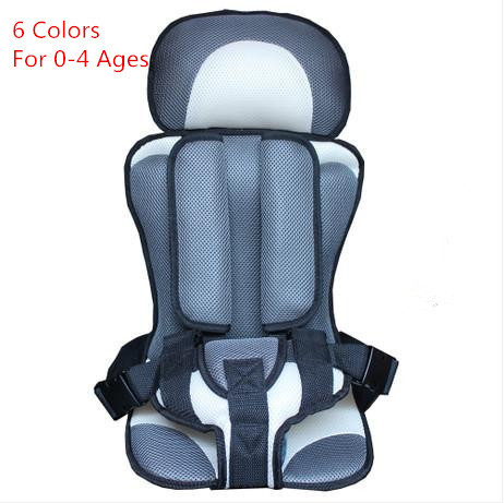 Group Car Seat Isofix Five Point Hamess Child Safety Portable Cotton Baby