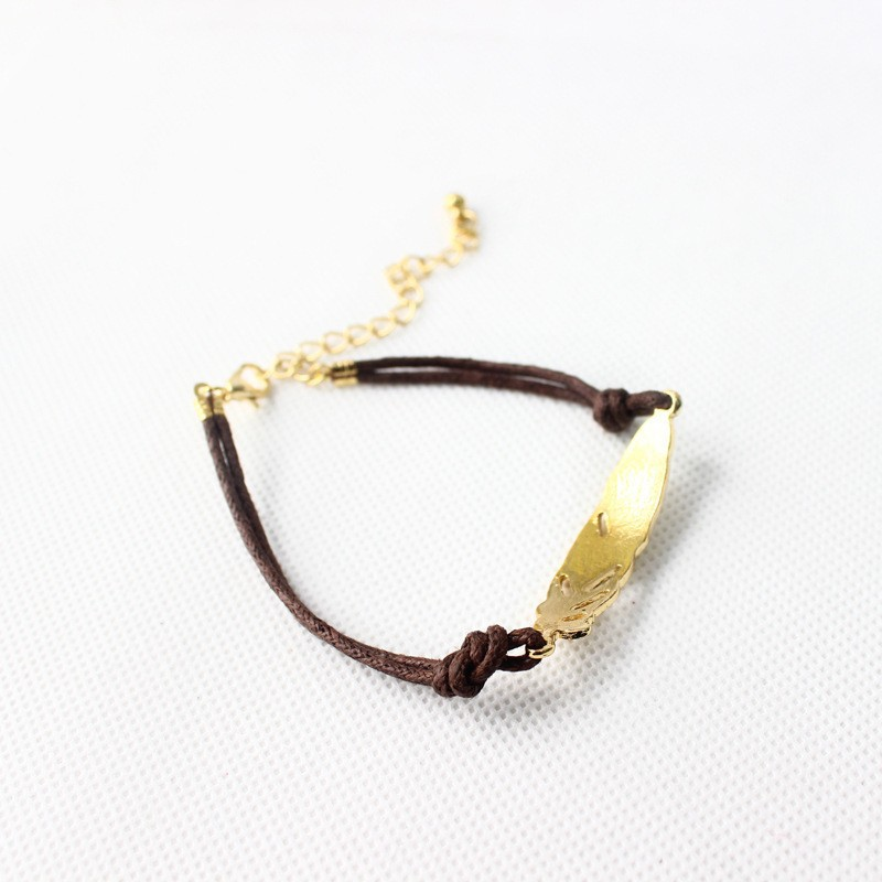 New-Style-Fashion-Leather-Bracelets-Bangles-Metal-Feather-Joint-Leather-Bracelet-For-Women-Lady-Girl-Wrist (2)