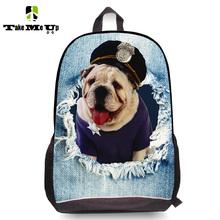 Cute 3D Animal Dog Pet Schoolbag for Girls Casual Kids Children School Bags Women Shoulder School Book bag Mochila Escolar