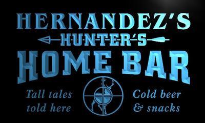 x1029-tm Hernandez's Home Bar Custom Personalized Name Neon Sign(China (Mainland))