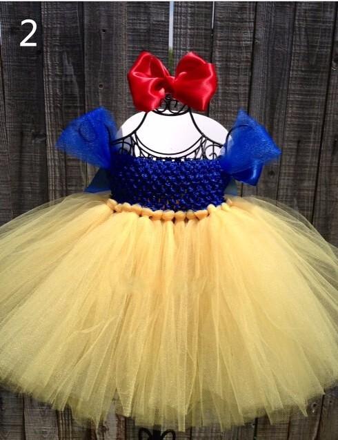 Скидки на Детская одежда Платья для девочек Белоснежка Рождество платье/Ручной пользовательские Лоскутное пачка платье Принцессы/платье princesa