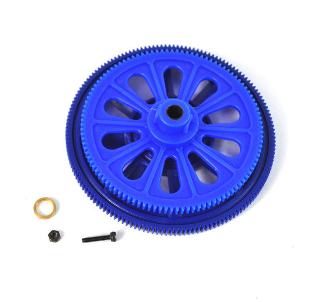 5sets/lot 450 helicopter parts 5sets/lot Main Drive Gear Set HS1218T For RC helicopter Trex T-rex 450 AE 450SE SE V2 RC Parts
