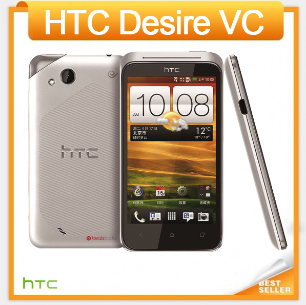 T328d Original HTC Desire VC T328d Android GPS WIFI 4.0''TouchScreen 5MP camera Dual SIM Unlocked Cell Phone Free Shipping(China (Mainland))