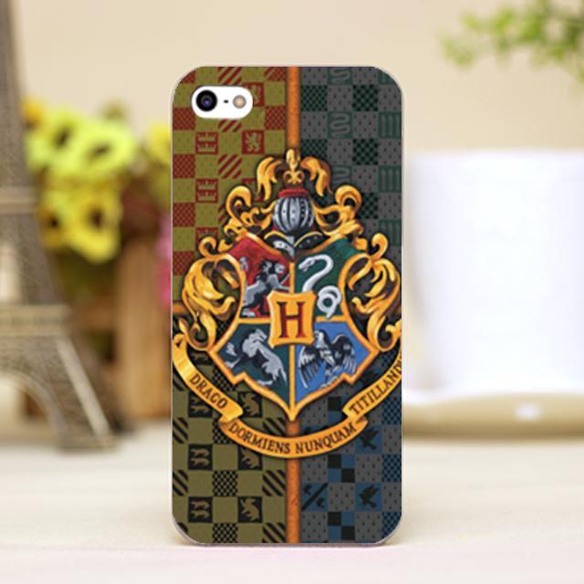 pz0064-1 Harry Potter logo Design phone transparent cover cases iphone 4 5 5c 5s 6 6plus Hard Shell - One spark shop store