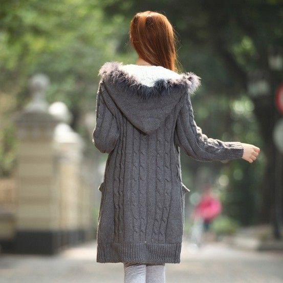 outerwear wool Picture - More Detailed Picture about Slim ...