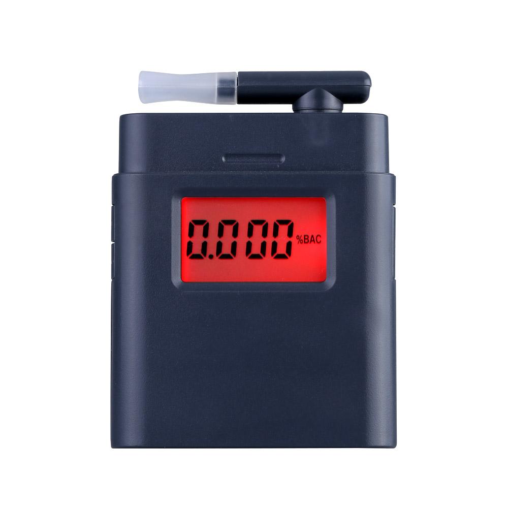 2016 высокочувствительный алкоголя в выдыхаемом воздухе тестер Prefessional жк-цифровой дыхания с подсветкой алкоголь детектор Alcotester