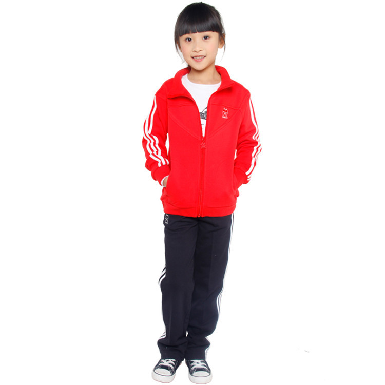 2015 spring and autumn hot sale baby girls casual coats long pants little girls active clothing sets YGS30322(China (Mainland))