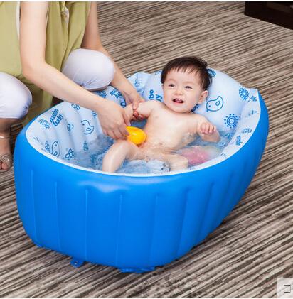 2015 Baby used mini indoor massage hot tub inflatable bathtubs fashion Baby bathtub PVC portable bath tub(China (Mainland))