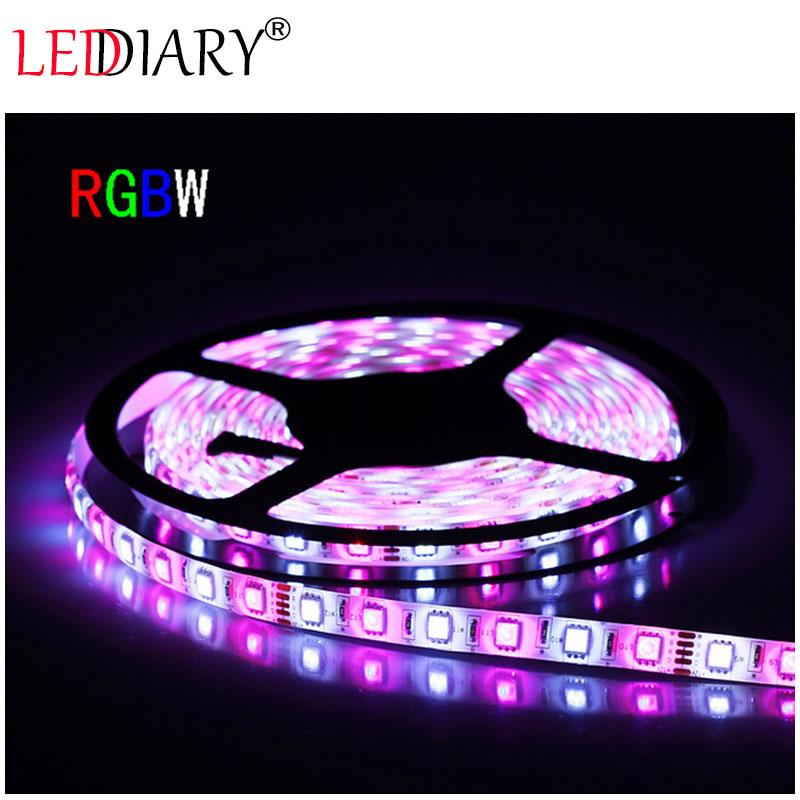 300 LED strip light 5050 5M 12V non-waterproof christmas/party/wedding decoration lights  RGB+warm/cold white free shipping<br><br>Aliexpress