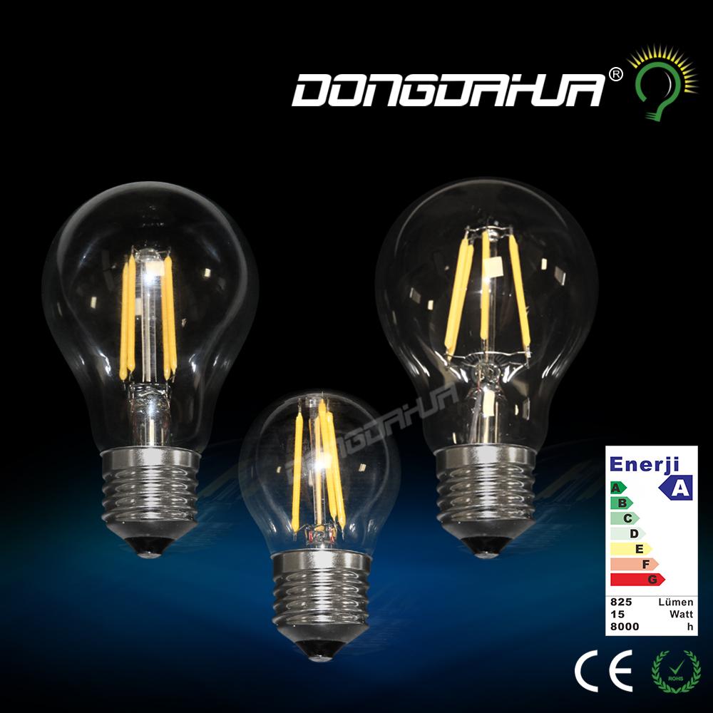 E27 Led Bulb AC220-240V Filament lamp Edison 4W 6W 10W COB LED Light Incandescent lampada G45 A60(China (Mainland))