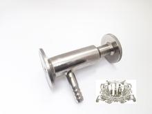 Stainless sanitary tri-clamp  needle valve SS304 , OD50,5(China (Mainland))