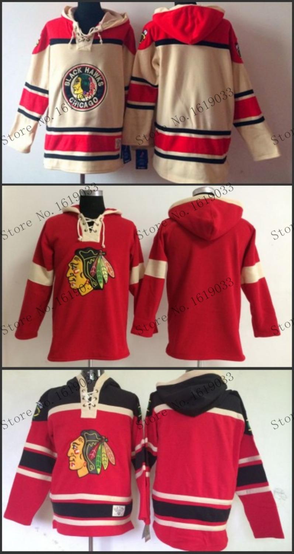 HOT 2015 Free Shipp. Chicago Blackhawks Cheap Ice Hockey Jersey Hoodie Blank Hockey Hoodies/ Hooded Sweatshirt