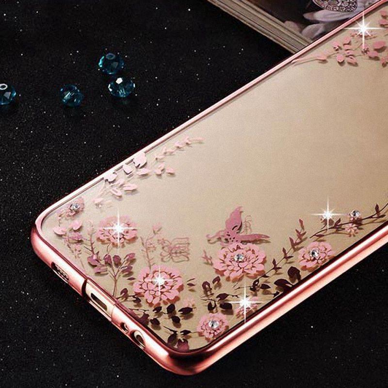 Pretty Rhinestone Case for Huawei Nova Plus Cover Nova, TPU Silicone Luxury Back Cover for Huawei Nova Phone Bag Case Coque(China (Mainland))