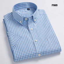 高品質メンズオックスフォードカジュアルシャツレジャーデザインのチェック柄男(China)