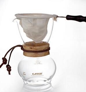 Chemex Style Pour Over Coffee Maker