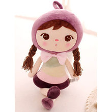 50cm New Metoo Cartoon Stuffed Animals Angela Plush Toys Sleeping Dolls for Children Toy Birthday Gifts Kids Free shipping(China (Mainland))