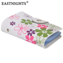 Free shipping ,Women's GENUINE LEAHTER bank credit name card holder,with printed flowers,promotion gifts,,(China (Mainland))