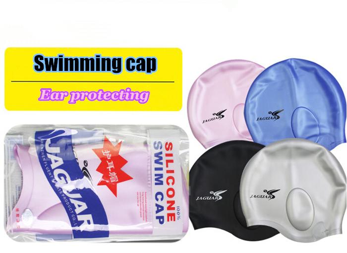 Premium adult silicone swimming cap waterproof swim hat for women and men(China (Mainland))