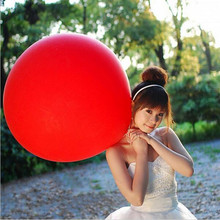 10 PCS/lot Colorful Super Large Balloons Helium Inflable Latex Balloons Birthday Wedding Party Decor Round Big Giant Balloon
