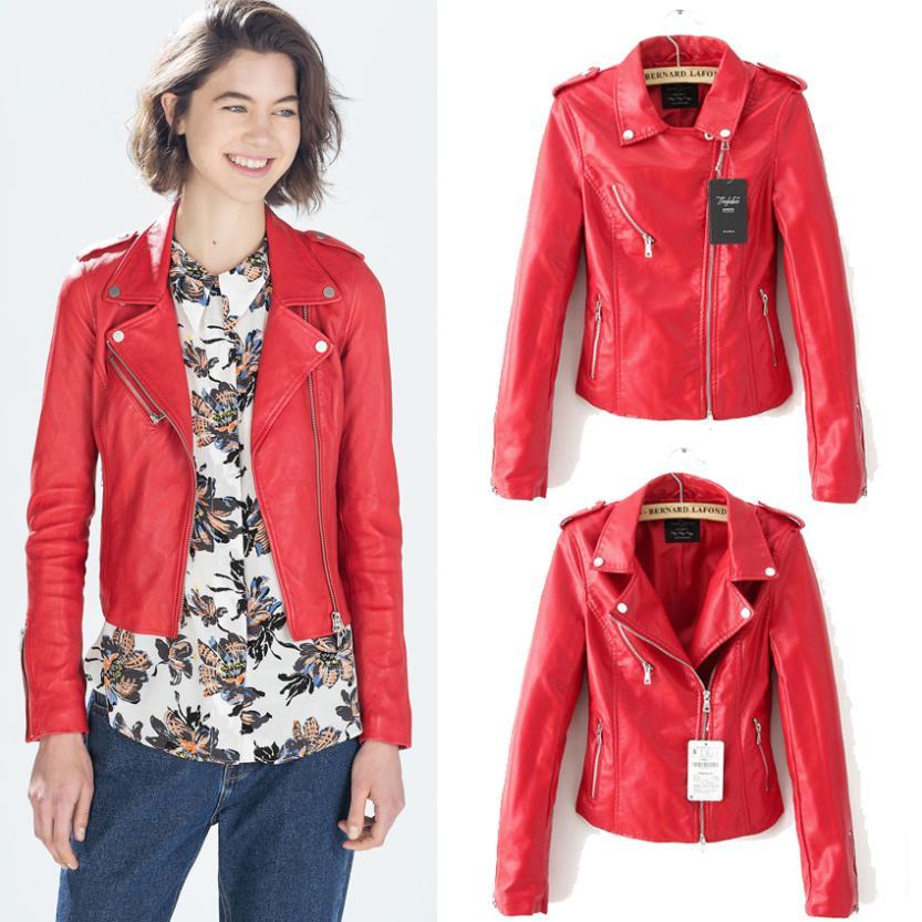 Red Jacket Women's | Gommap Blog